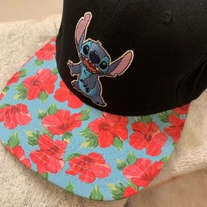 Other - Disney Stitch Floral Snapback